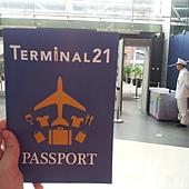 樓層簡介也弄得跟護照一樣,很可愛