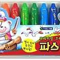 12 colors crayon