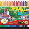 30 colors crayon