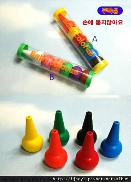 baby color 無毒手指蠟筆