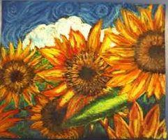 梵谷向日葵1