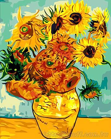 梵谷向日葵2
