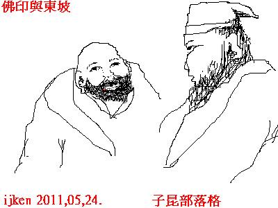 佛印與東坡.bmp