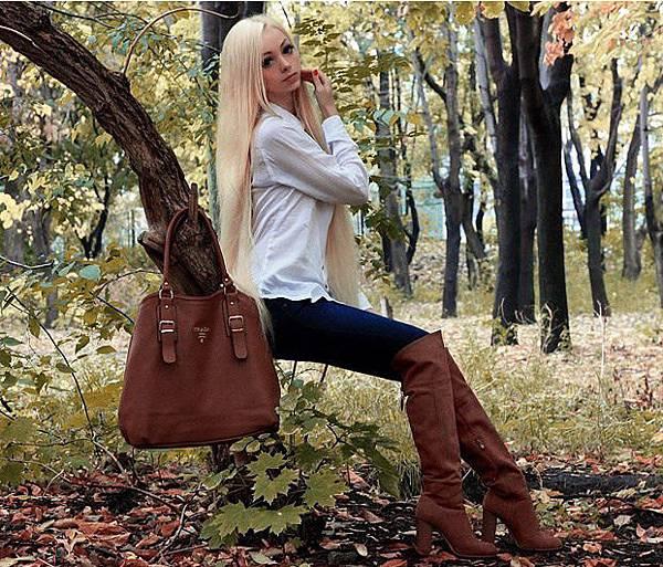 烏克蘭芭比娃娃Alina Kovaleskaya