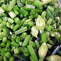 韭菜花切碎