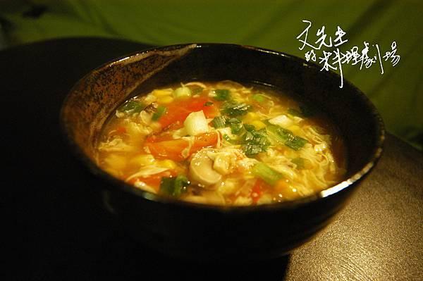 番茄洋菇玉米濃湯