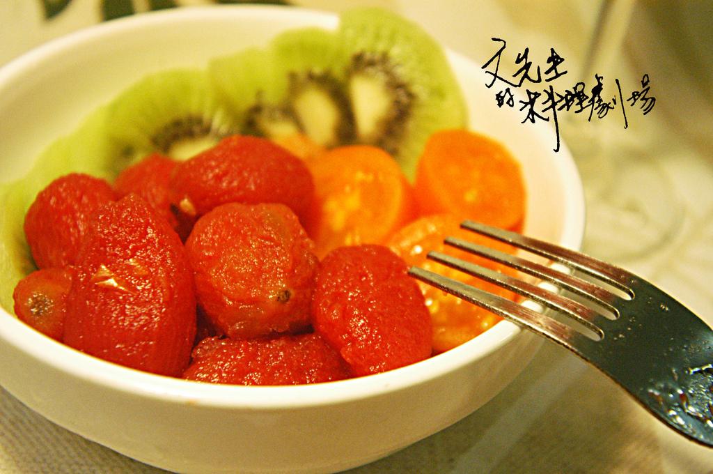 紅酒番茄解凍