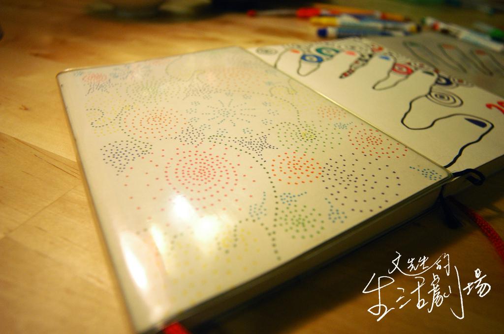 2010年至2012年手繪手帳封皮