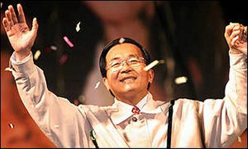 2000年陳水扁當選