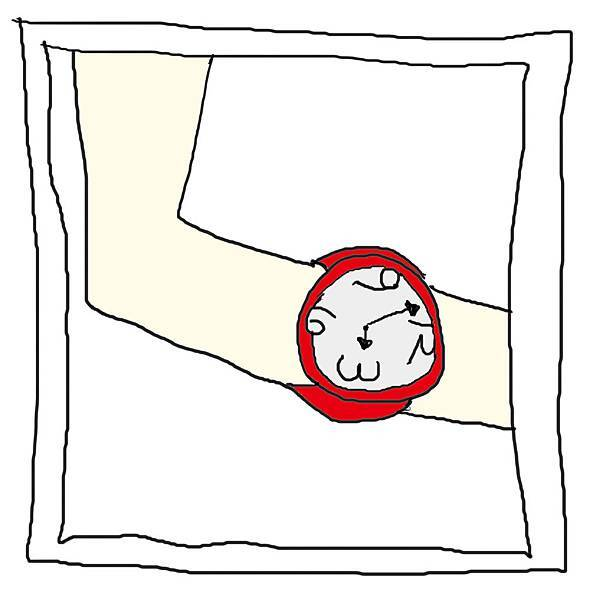 手錶放大圖