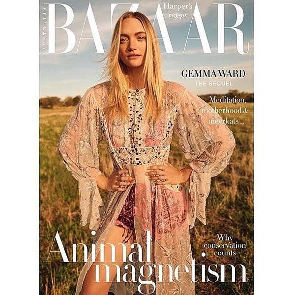 Gemma Ward for Harper's Bazaar Australia December 2018-2.jpg