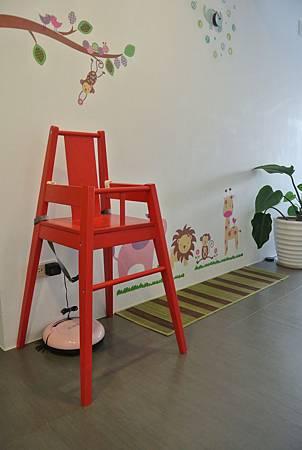BLÅMES高腳椅附托盤