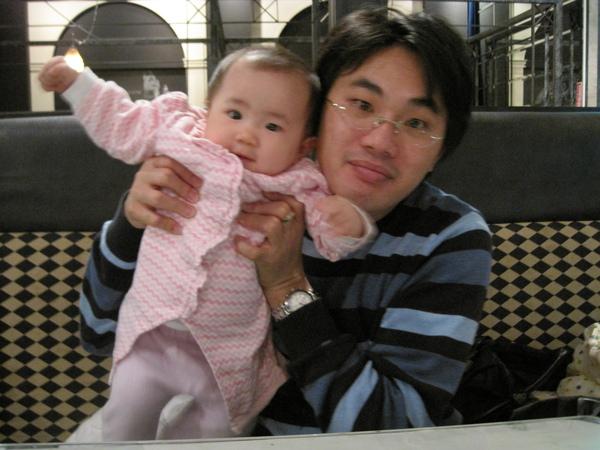 小米爸和小米--小米媽最愛的兩個人!