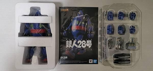 超合金魂 GX-24R 鐵人28號 開箱 - 7