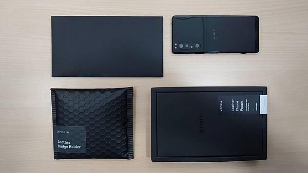 2020新款生日禮~Xperia 極簡皮革手機袋 - 2