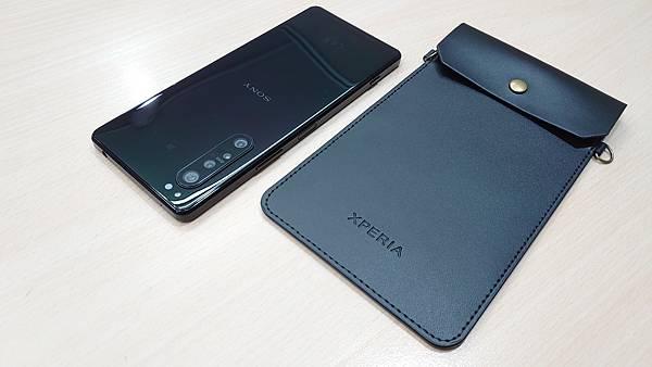 2020新款生日禮~Xperia 極簡皮革手機袋 - 3