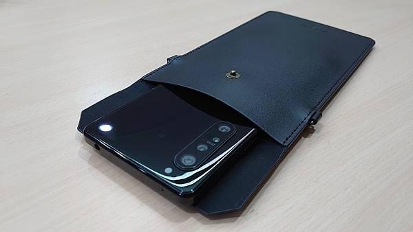 2020新款生日禮~Xperia 極簡皮革手機袋 - 7