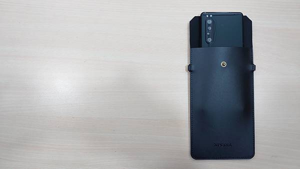 2020新款生日禮~Xperia 極簡皮革手機袋 - 8
