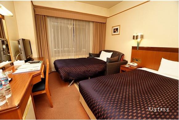 京都山科布萊頓都市飯店Hotel Brighton City Kyoto Yamashina TRP-沙發床1