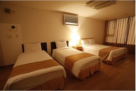 首爾現代飯店Hyundai Residence QUAD 1大+2小