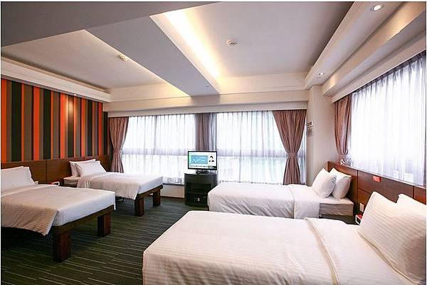 儷凱酒店Le Prabelle Hotel QUAD 4小床