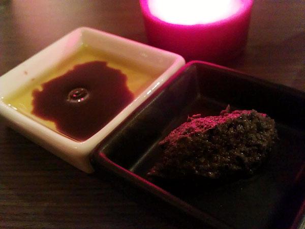 油醋與橄欖鮪魚醬