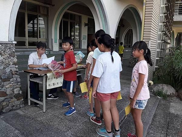 壯圍團委會8月暑期輔導