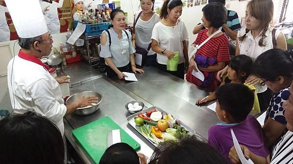 106年宜蘭縣新住民「幸福美食料理課程」活動第一場