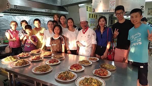 宜蘭縣新住民「幸福美食料理課程」活動2