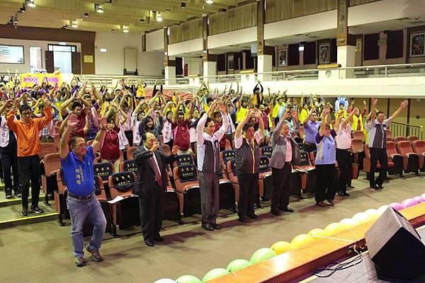 宜蘭縣慶祝本團成立65週年團慶暖身活動