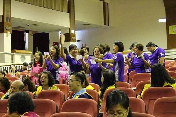 宜蘭縣慶祝本團成立65週年團慶隊呼