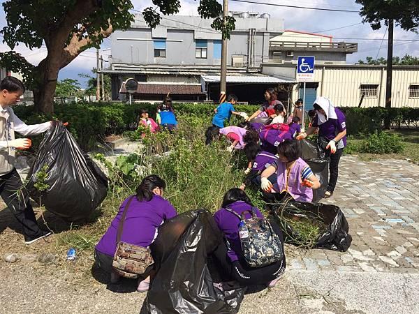 106年宜蘭縣真善美聯誼會壯圍紅葉社區清淨家園活動