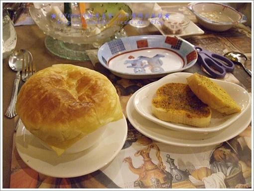 地中海蘑菇燻肉起酥堡濃湯