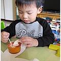 草莓蛋糕是小孩的午茶點心