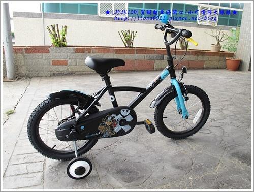 這是第一台自己的腳踏車!