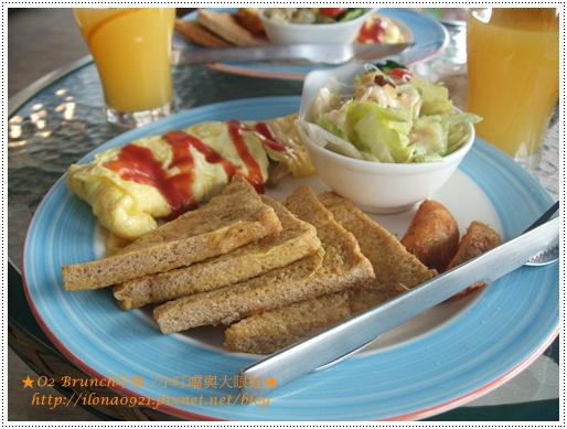 O2 Brunch早餐4.JPG