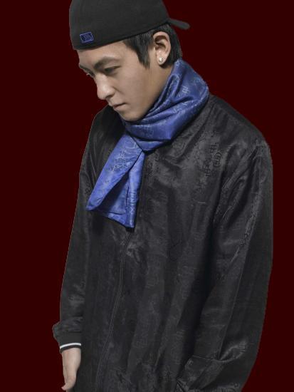CLOT ROYALE BOXER SCARF 圍巾 藍 冠希