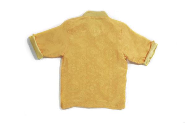 CLOT Royale China Shirt 中國唐裝 超限定入手 反面
