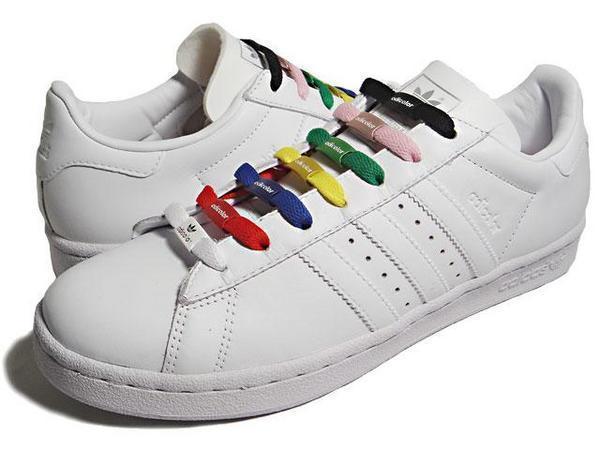 ADIDAS ADICOLOR W3 彩色鞋帶
