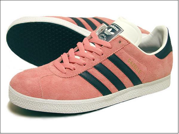 Adidas gazelle II Sue 粉紅黑 麂皮