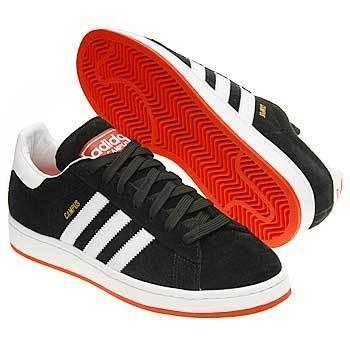 Adidas Original Campus II 紅黑白 麂皮