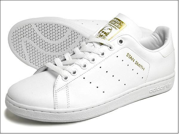 Adidas Original Stan smith 全白金標 金色人頭 日本限定
