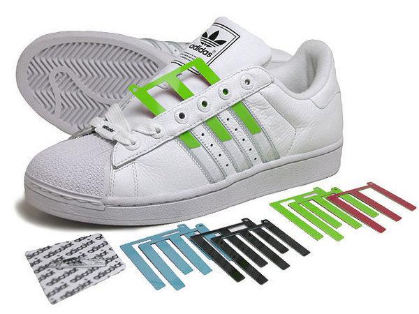 Adidas original Superstar 2 IS WHITE 全白 插卡式