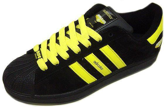 Adidas Original SuperStar SS Adicolor Y6 黑黃配色 台灣未發1