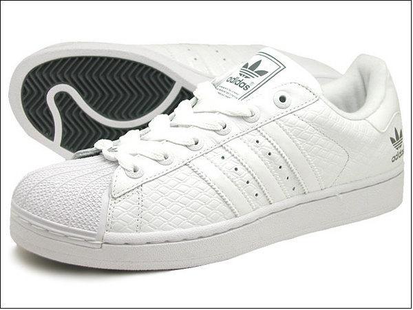 Adidas Superstar 全白 菱格紋 格紋 台灣未發