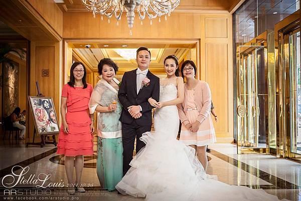 ARstudio/婚禮紀錄/Stella&Louis/台北婚攝/西華飯店