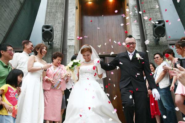 【Jess婚禮】這一幕是這倆人一輩子忘不掉的。