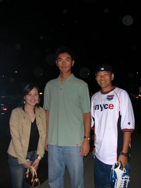 2003年與羅錦龍合影