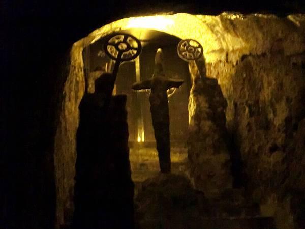 地下迷宮一角落