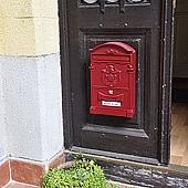 民宿門口匈牙利傳統郵箱